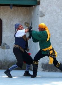 sword fight to settle hoop dispute-buytape.com